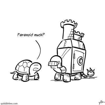 Fortified comics  turtle knight castle  cartoon