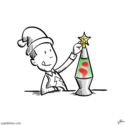 Holiday Decor comics  Christmas  cartoon