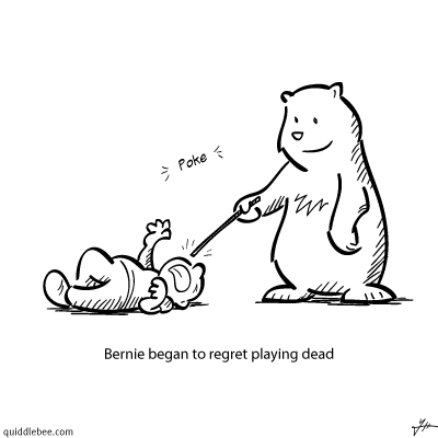 Survival Strategy comics  bear  cartoon