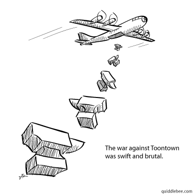 Aerial Anvil Aggression comics  airplane