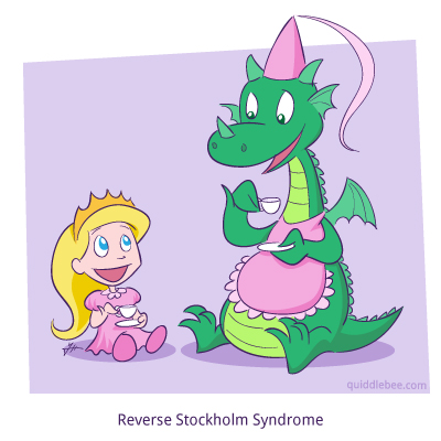 Dungeon Tea Party comics  princess party dragon  cartoon